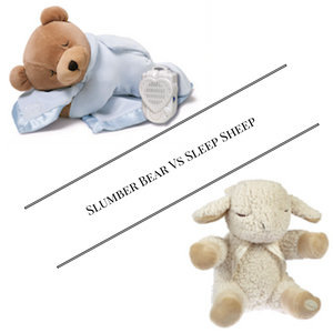 Slumber Bear vs Sleep Sheep: Which Will Sooth Your Little One to Sleep?