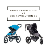 Thule Urban Glide vs BOB Revolution SE: What is the Best Jogging Stroller for 2018?