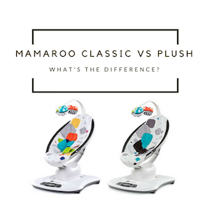 Differences between mamaRoo Classic and Plush