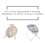 Fisher-Price My Little Snugapuppy Deluxe Bouncer vs Rock 'N Play Sleeper